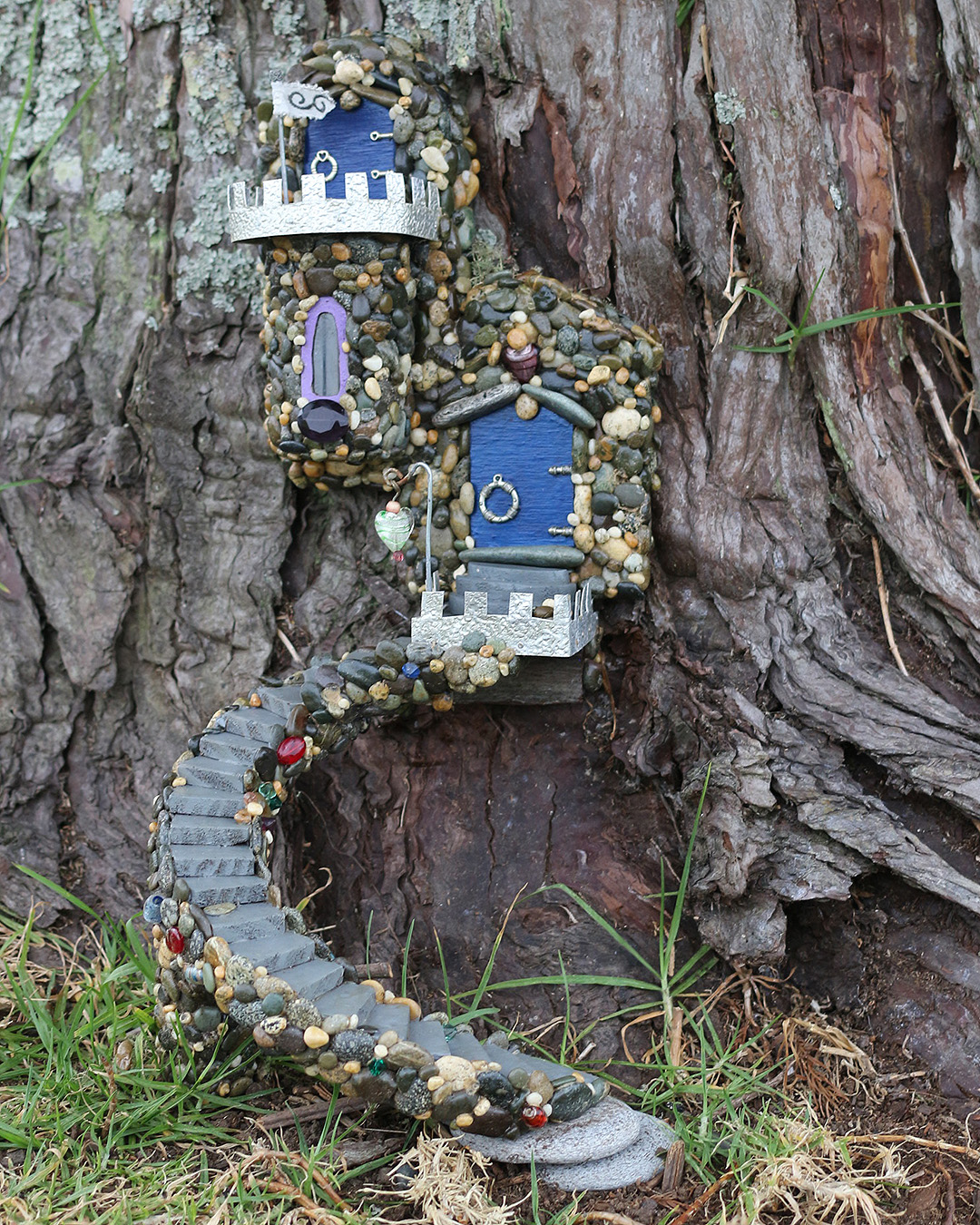 A darling fairy house at Hobsonville point.