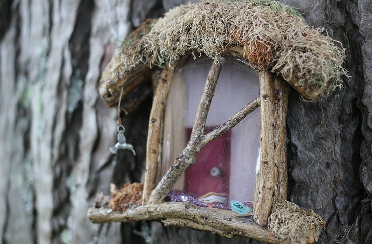 A darling fairy house at Hobsonville Point