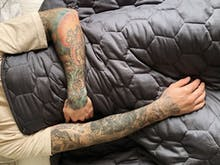 Give Dad The Gift Of Good Sleep, This Eco-Friendly Weighted Blanket Is 20% Off Right Now