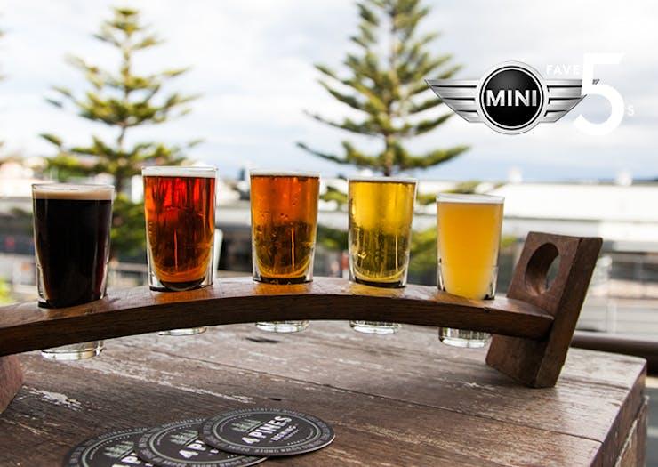 4 Pines craft beer in Sydney