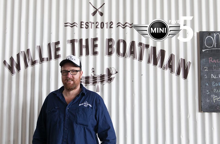 Willie the Boatman craft beer in Sydney
