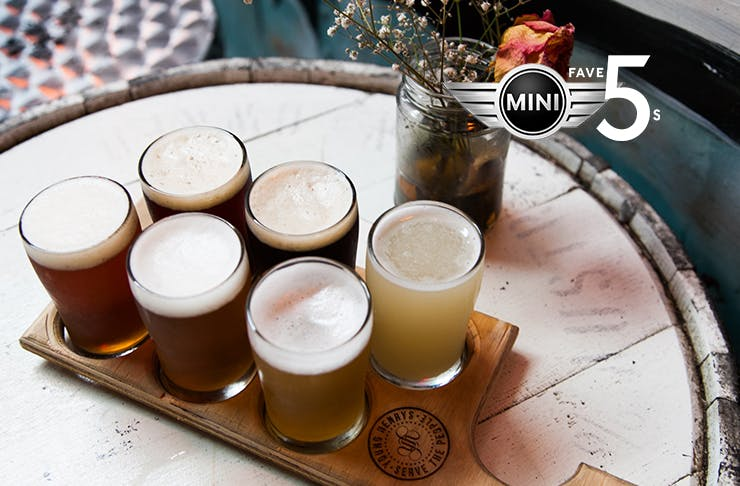 Young Henrys craft beer in Sydney
