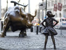 Wall Street's Famous Fearless Girl Statue Just Found A Home At Fed Square