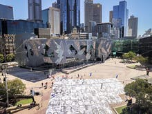Watch Your Step, Over 300 Large Scale Portraits Of Victorians Have Taken Over Fed Square