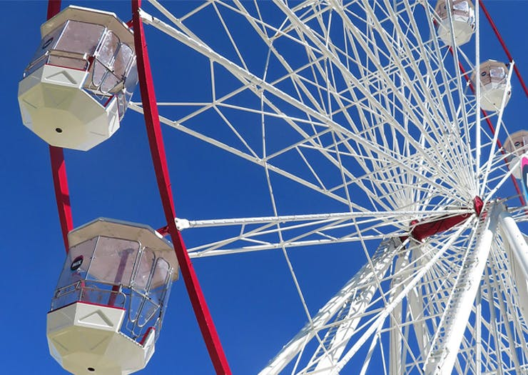 Conquer Your Fear Of Heights, Australia's Tallest Travelling Ferris Wheel Finishes Up This Month