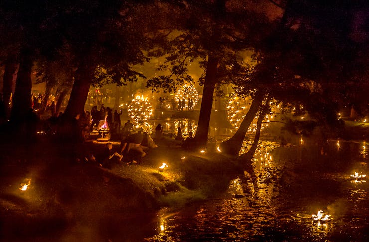 Huge Fire Sculptures Are About To Light Up The Botanic