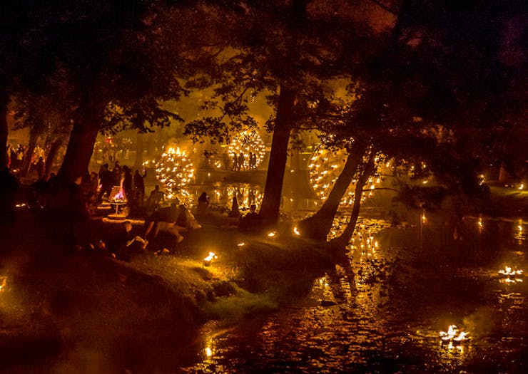 Huge Fire Sculptures Are About To Light Up The Botanic Gardens