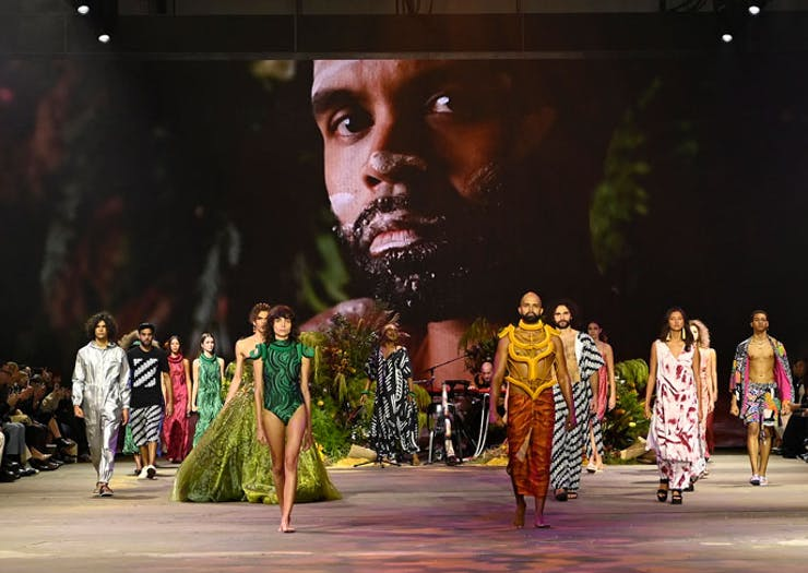 Meet The Designers Behind Fashion Week's Incredible First-Ever Indigenous Runway