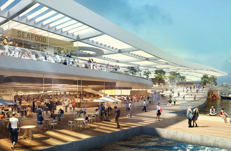 sydney fish market makeover