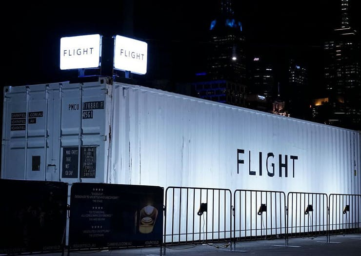 Scare Yourself Silly Inside FLIGHT, Perth's Very Creepy Flight Simulator