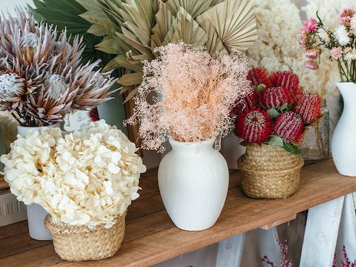 Byo Bubbles To A Flower Crown Workshop At This New Dried Flower Bar Urban List Brisbane