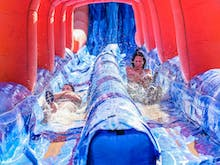 You Can Race Through Foam Pits And Down Waterslides On This 5K Fun Run
