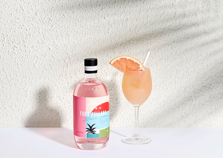 Get A Taste Of Summer With The Limited Edition Four Pillars x Arbory Afloat Pink Gin