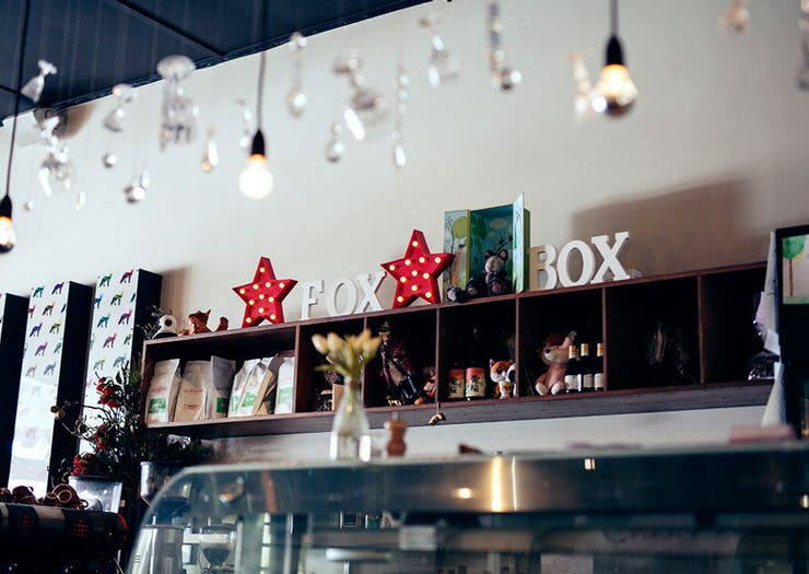 fox in the box cafe and restaurant