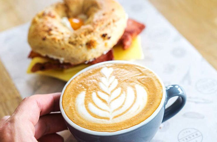free-coffee-brisbane-nyc-bagel-deli