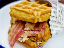 Psst! Orleans Are Giving Away FREE Waffle Burgers!
