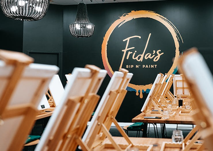 A Luxury Sip-And-Paint Experience Is Hitting The Sunshine Coast This Month