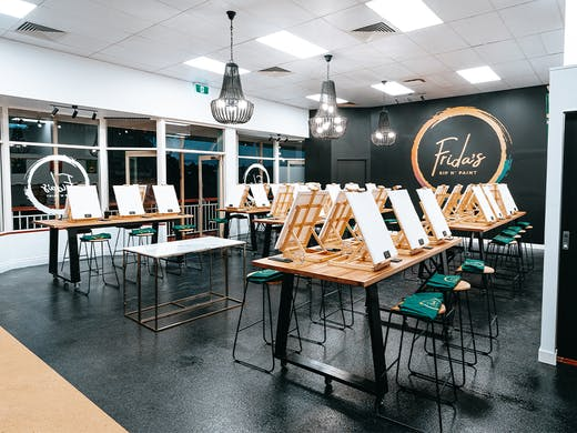 Stock Up On Cheese And Wine For A Session At This Luxe New Paint And Sip Studio Urban List Brisbane
