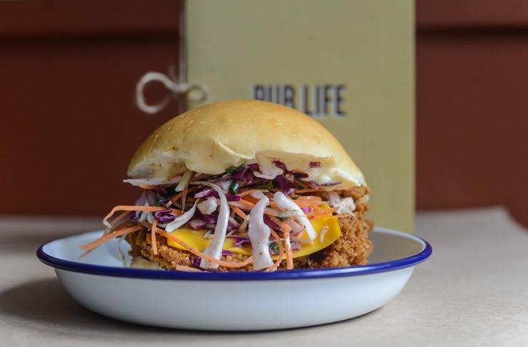 fried chicken burgers sydney