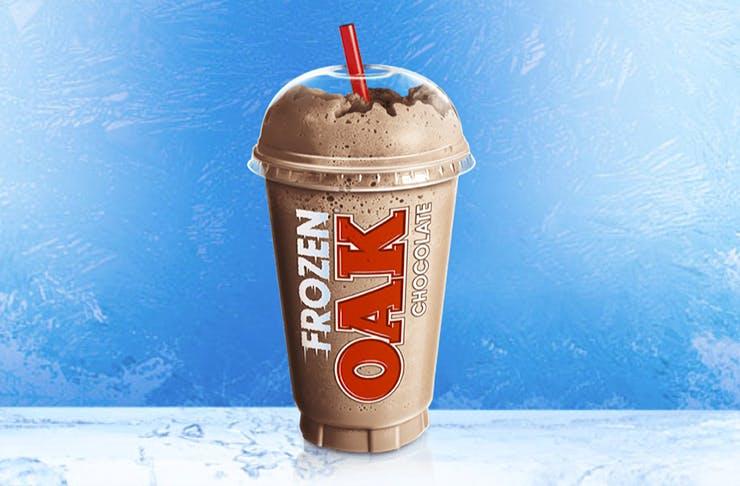 frozen chocolate oak