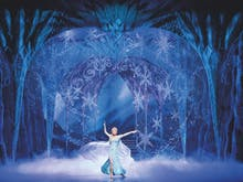 Let It Go At This New Frozen The Musical Inspired Paint And Sip Class