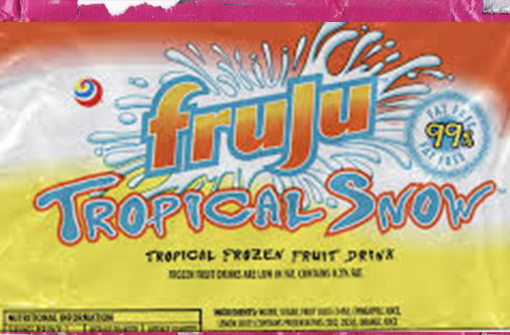 nz foods fruju tropical snow