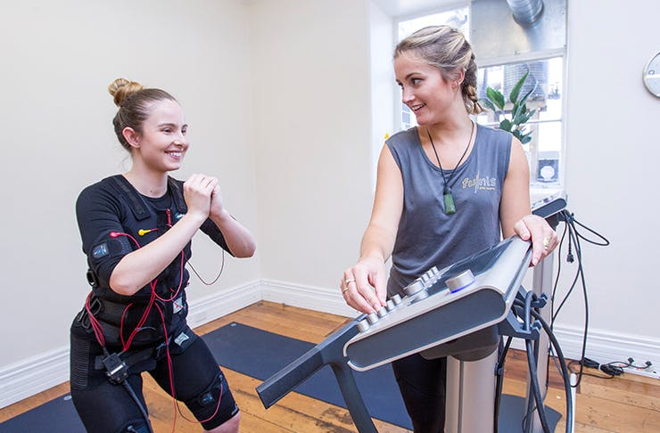 Fitness Dummy | We Try EMS Training