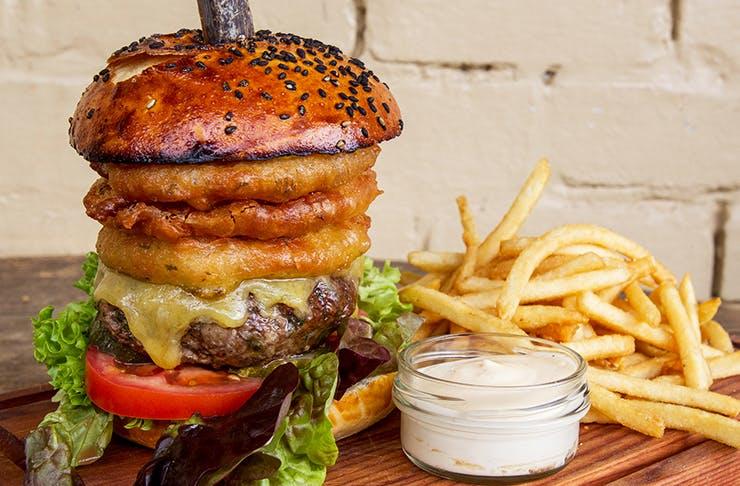 Best Restaurant Mushroom Burger