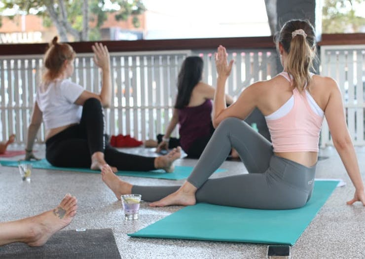 Sip Into Cobra Pose, This Yoga Studio Is Doing Monthly Gin And Yoga Sessions