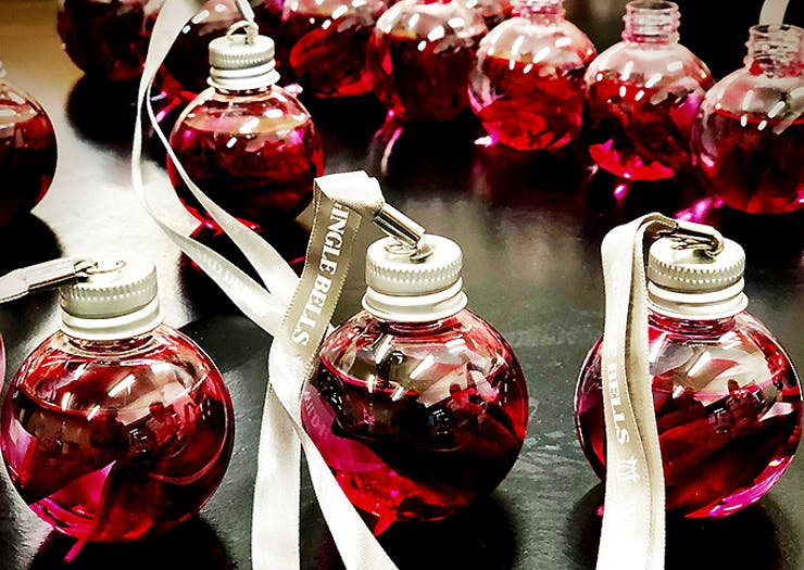 Gin Baubles Have Just Landed In NZ And This Is Where You Can Sip Them