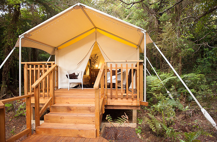 Glamping Getaways In And Around Auckland