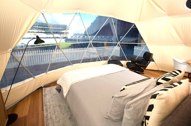 Get Ready Because You Can Now Glamp In Eden Park