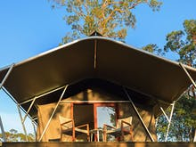 You Can Now Glamp At This Gorgeous QLD Winery (After A Cheeky Vino Or Five)
