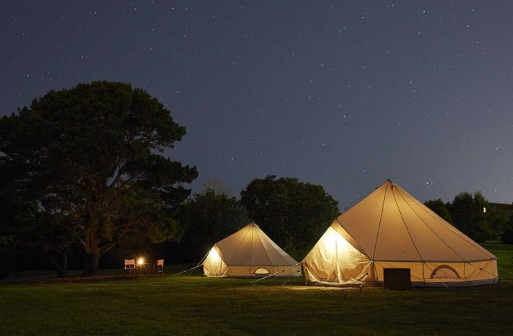 Bedouin on the Beaches, Sydney, Glamping