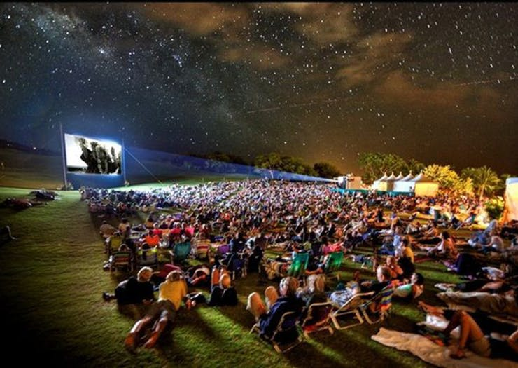 Glamping Movie Nights Are Now A Thing On The Sunshine Coast