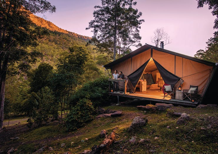 7 Of The Best Places To Go Glamping Around Brisbane