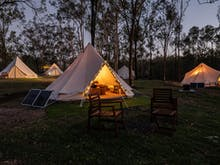Unwind To The Max At This New Lakeside Glamping Spot Under Two Hours From Brisbane
