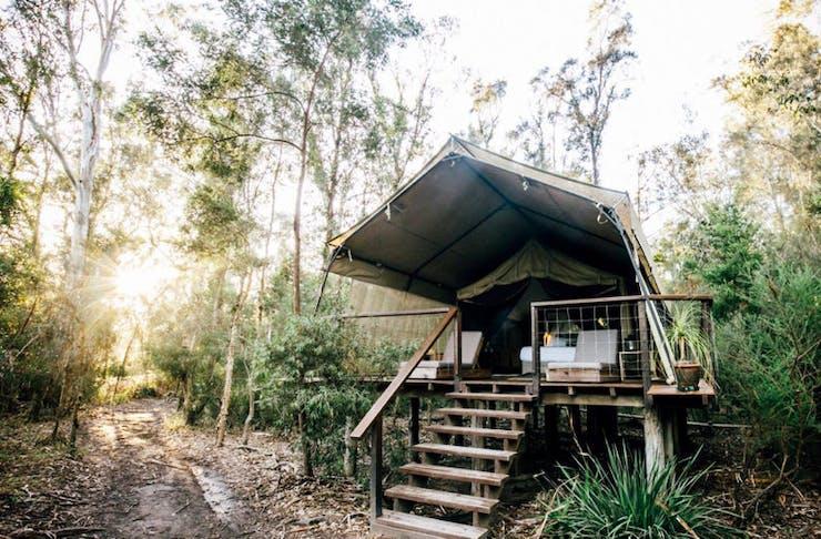 Best camping sunshine coast