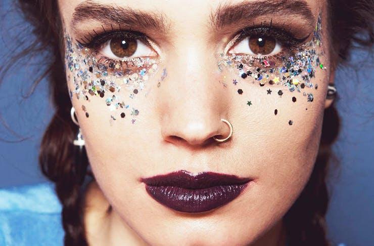 glitter-makeup-mardi-gras