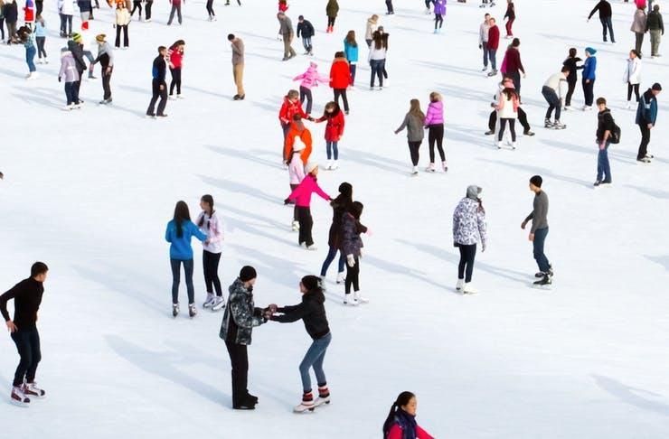 Ice Skating In Noosa