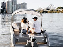 You Can Hire These Electric Picnic GoBoats And Cruise Up The Brisbane River