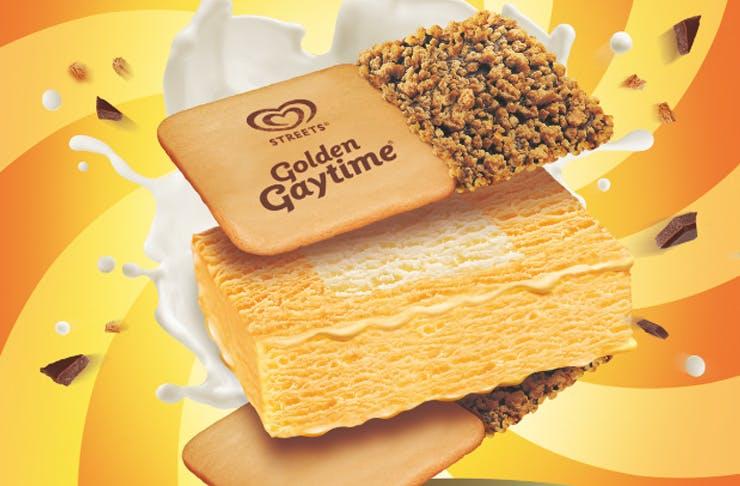 golden gaytime sanga