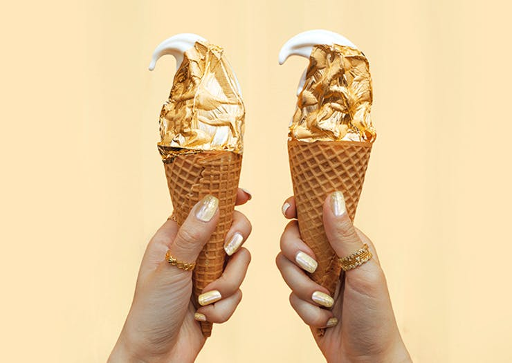 Gold Ice-Creams Are Hitting Sydney This Weekend