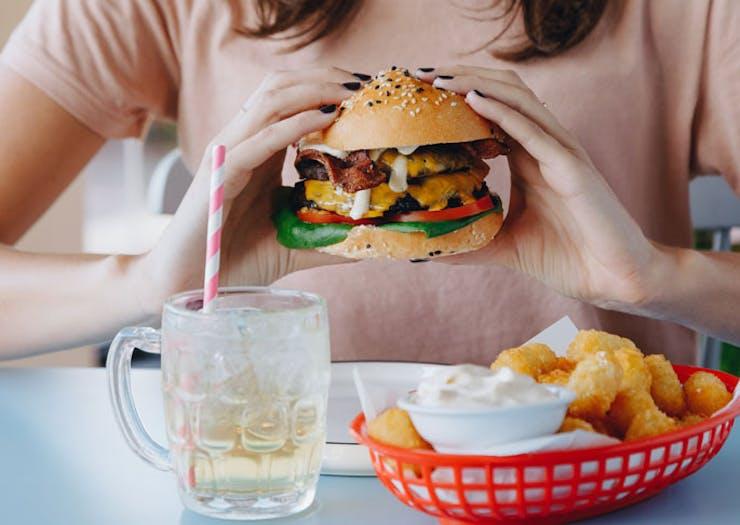 New Bentleigh Café Good Times Milk Bar Is Now Serving Up Burgers