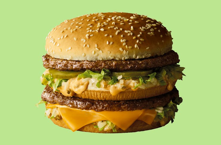 In News That Will Excite Even The Most Extreme Quarter Pounder Devotees Maccas Has Released A Grand Big Mac And Yes Its Basically Just A Bigger Version