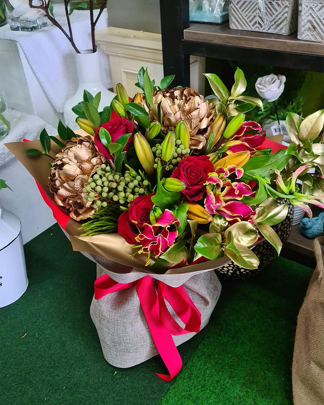 Flowers looking wonderful at Green Bay florist.