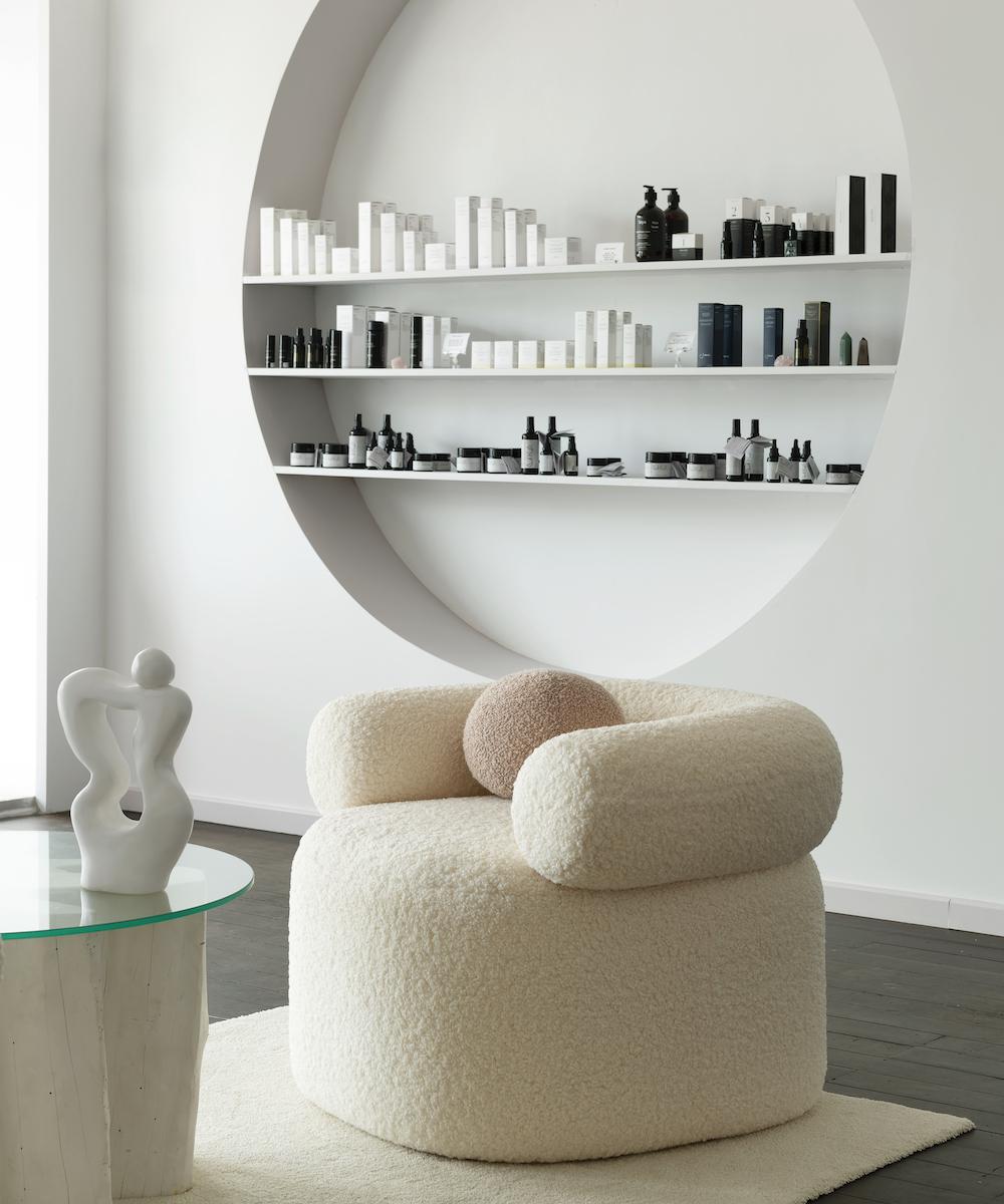 Greenhaus Studio's waiting room