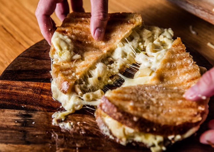 You Can Get Free Grilled Cheese Sangas In Melbourne On Thursday