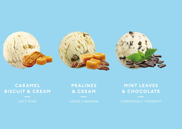 what ice cream flavour are you