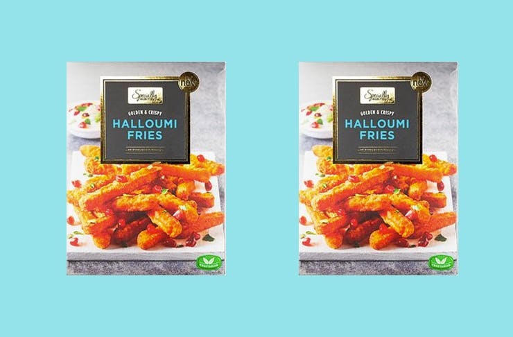 halloumi fries aldi